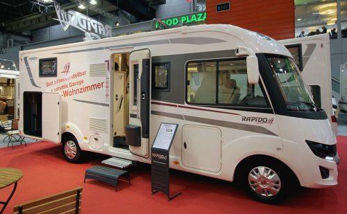 Caravan Salon Düsseldorf 2018 – Del 14: Rapido 2014: Mange nye modeller
