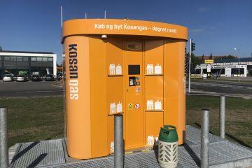 Byt gas i gasautomaten