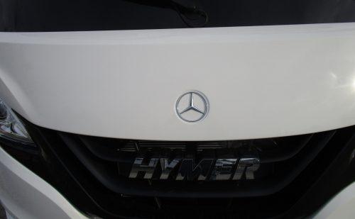 Hymer/Mercedes Benz autocamper hos PB Autocamper