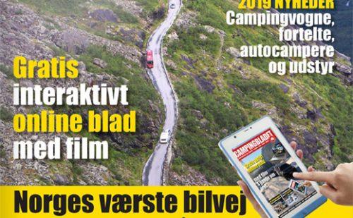 Den nye Campingblad er udkommet