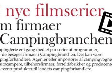 Nye filmserier fra Campingferie.dk