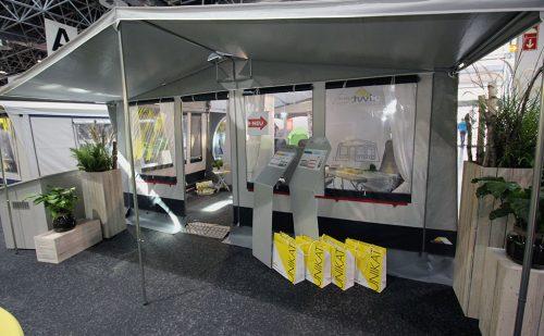 Caravan Salon Düsseldorf 2018 – Del 15: Nye fortelte fra DWT Telte