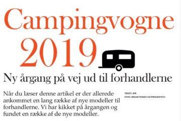 se 19 nye 2019 modeller i campingvogne