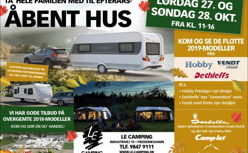 Åbent Hus hos LE Camping