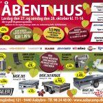 Åbent Hus hos Aabybro Camping & Fritid (27-28 OKT 2018)