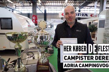 Her køber de fleste campister deres Adria campingvogn!