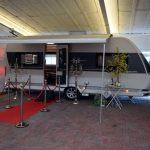 Campingferie besøger Caravan Centret Brohallen