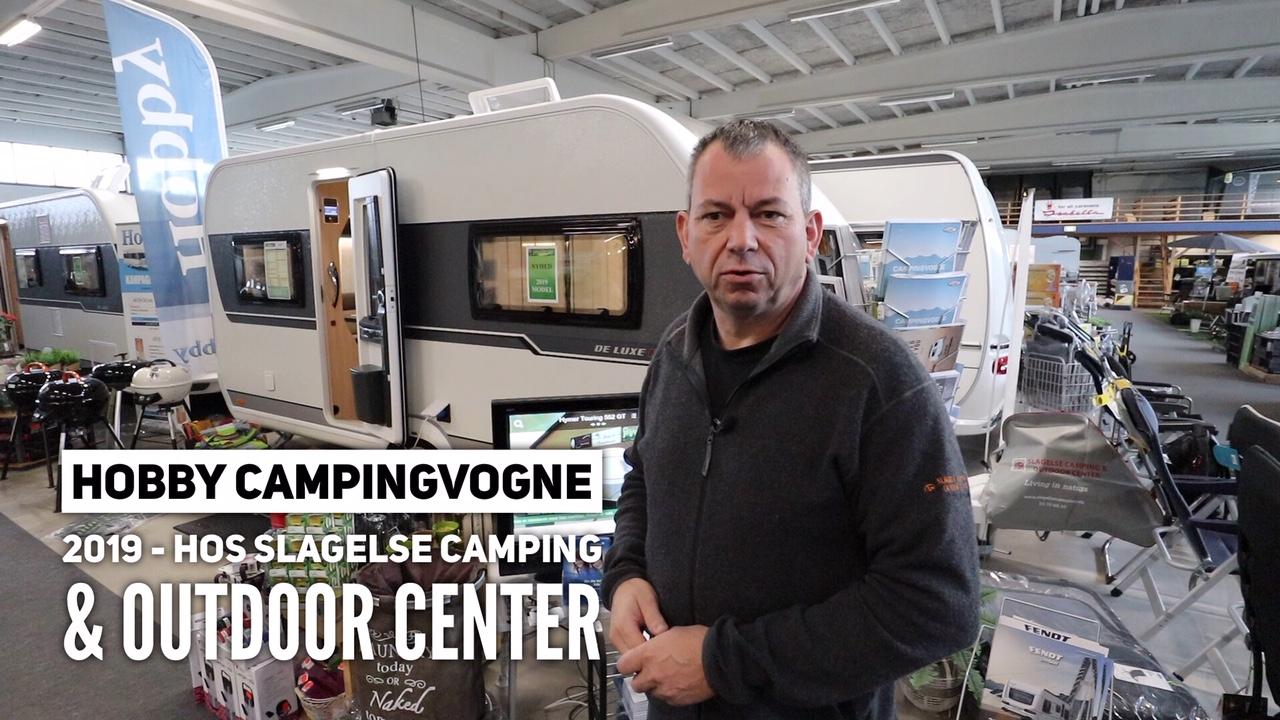 Hobby 2019 campingvogne hos Slagelse Camping & Outdoor Center