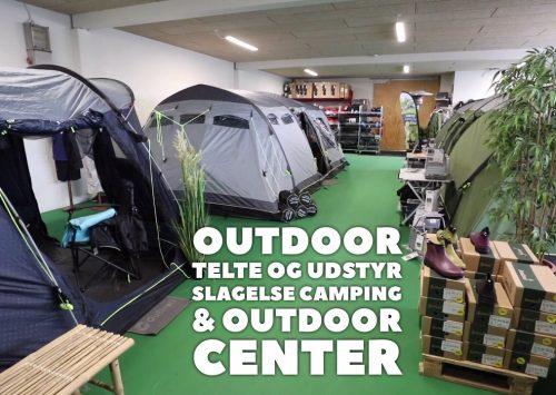 Outdoor tilbehør, udstyr, fiskeri, jagt, tøj og telte (og meget mere)