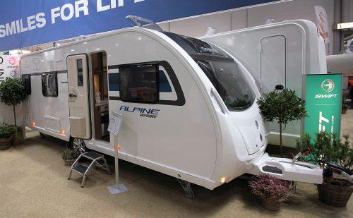 2019 Sprite Alpine Sport CE – Ny model med enkeltsenge