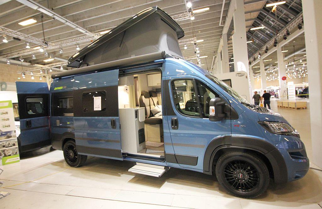 Verdenspremiere - Hymercar Free 600 Blue Evolution