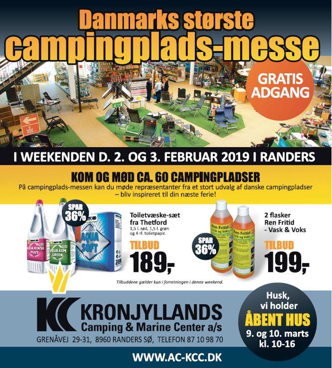 Kæmpe Campingplads-messe fejrer 10. år - Gratis entre