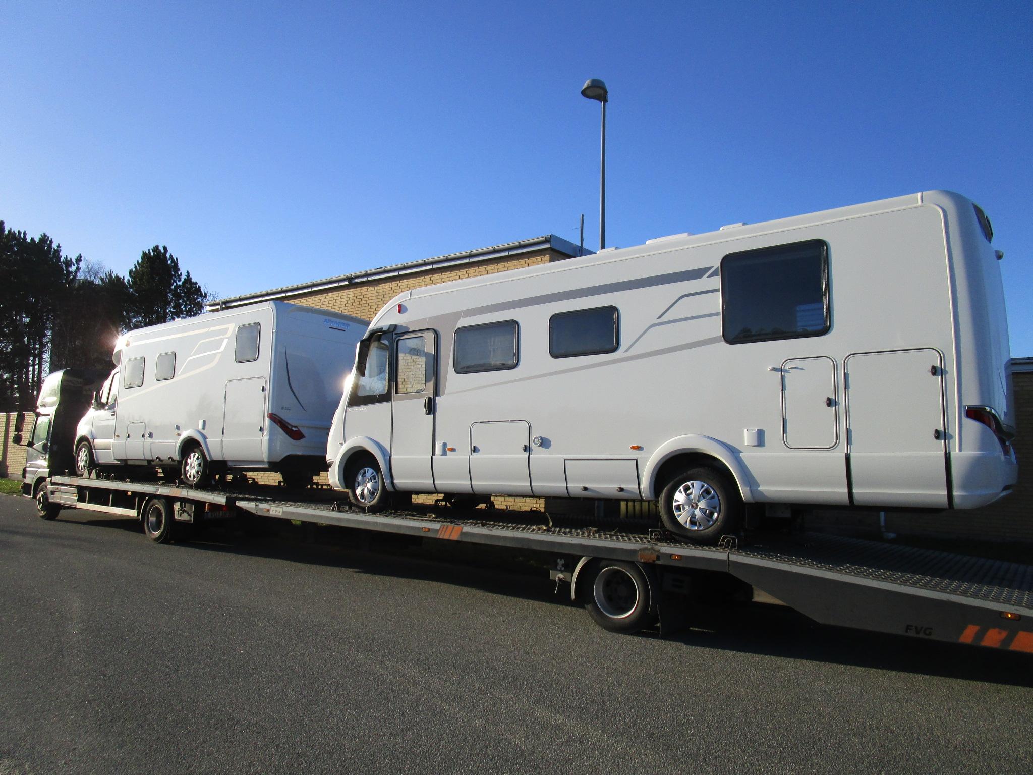 Spændende Hymer autocampere er ankommet til PB Autocamper