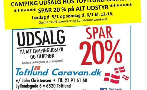 Åbent Hus hos Toftlund Caravan