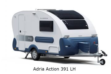 VERDENSPREMIERE – Ny Adria Action 391 LH – KUN I DANMARK!