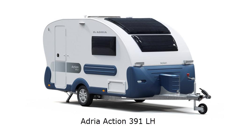 VERDENSPREMIERE – Ny Adria Action 391 LH - KUN I DANMARK!  (Reklame)