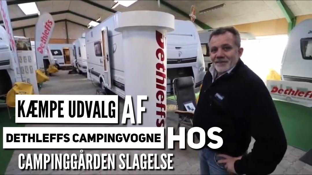Sjællands største udvalg af Dethleffs campingvogne