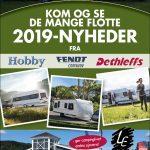 Udsalg på de sidste 2018-modeller og masser af 2019-nyheder hos LE Camping