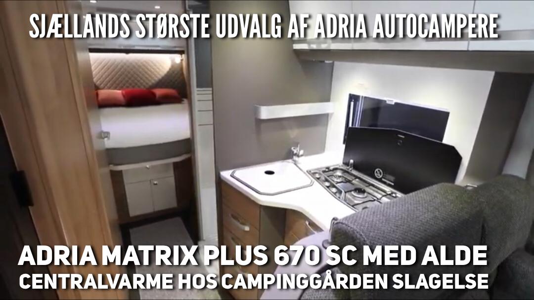 Sjællands største udvalg af Adria autocampere