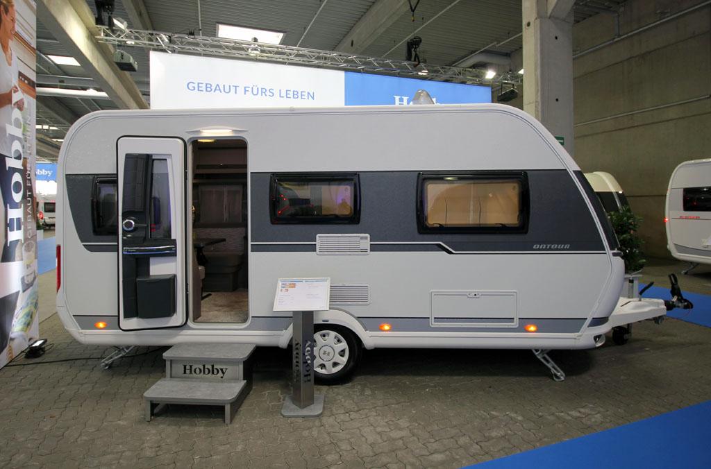 Hobby OnTour 460 DL – Tysk komfort for to på tur