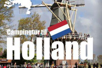 Campingtur til Holland