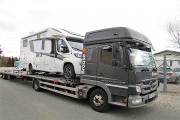 Knaus Platinum Modeller lander i en lind strøm hos PB Autocamper i Allingåbro
