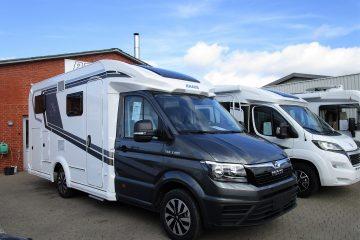 Nye Knaus modeller (bygget på MAN og Peugeot) hos PB Autocamper