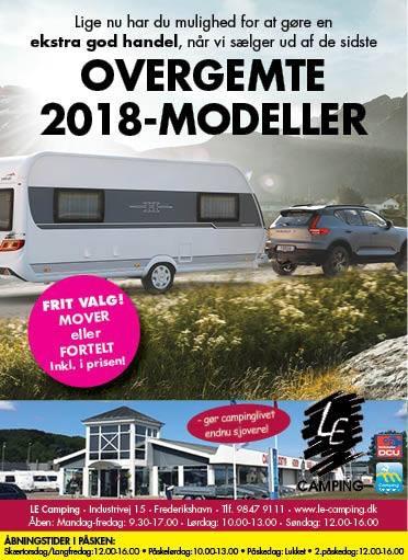Overgemte 2018 modeller - Lav en god handel nu
