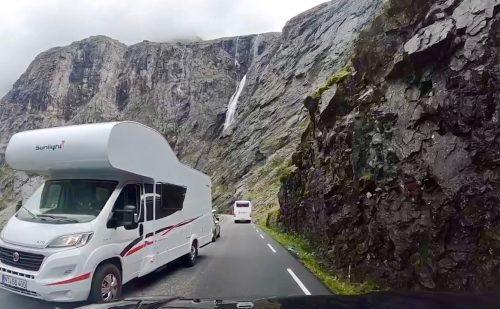 Trollstigen meter for meter – op og nedkørsel