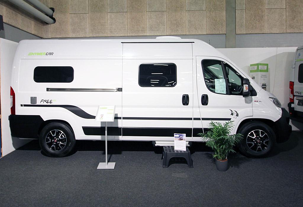 Hymercar Free 602 – Mange smarte detaljer