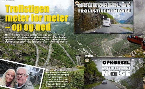 Trollstigen meter for meter – 2 nye film