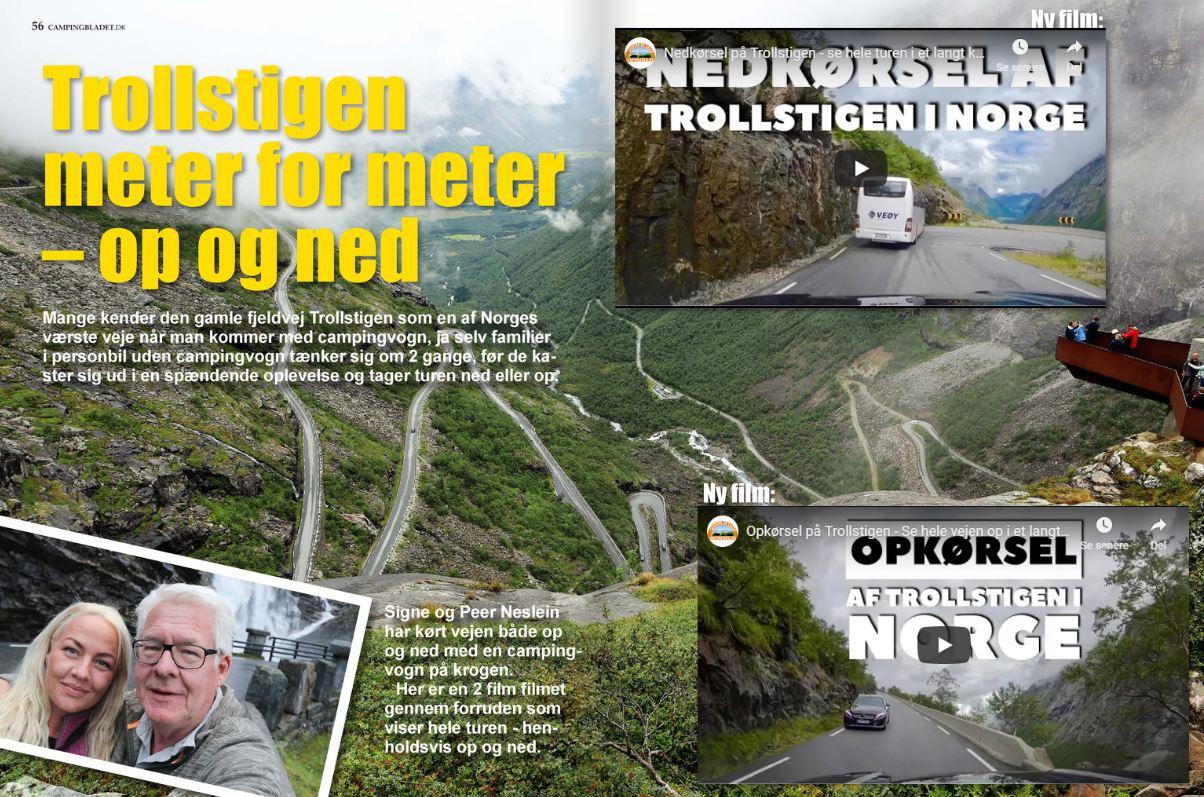 Trollstigen meter for meter - 2 nye film