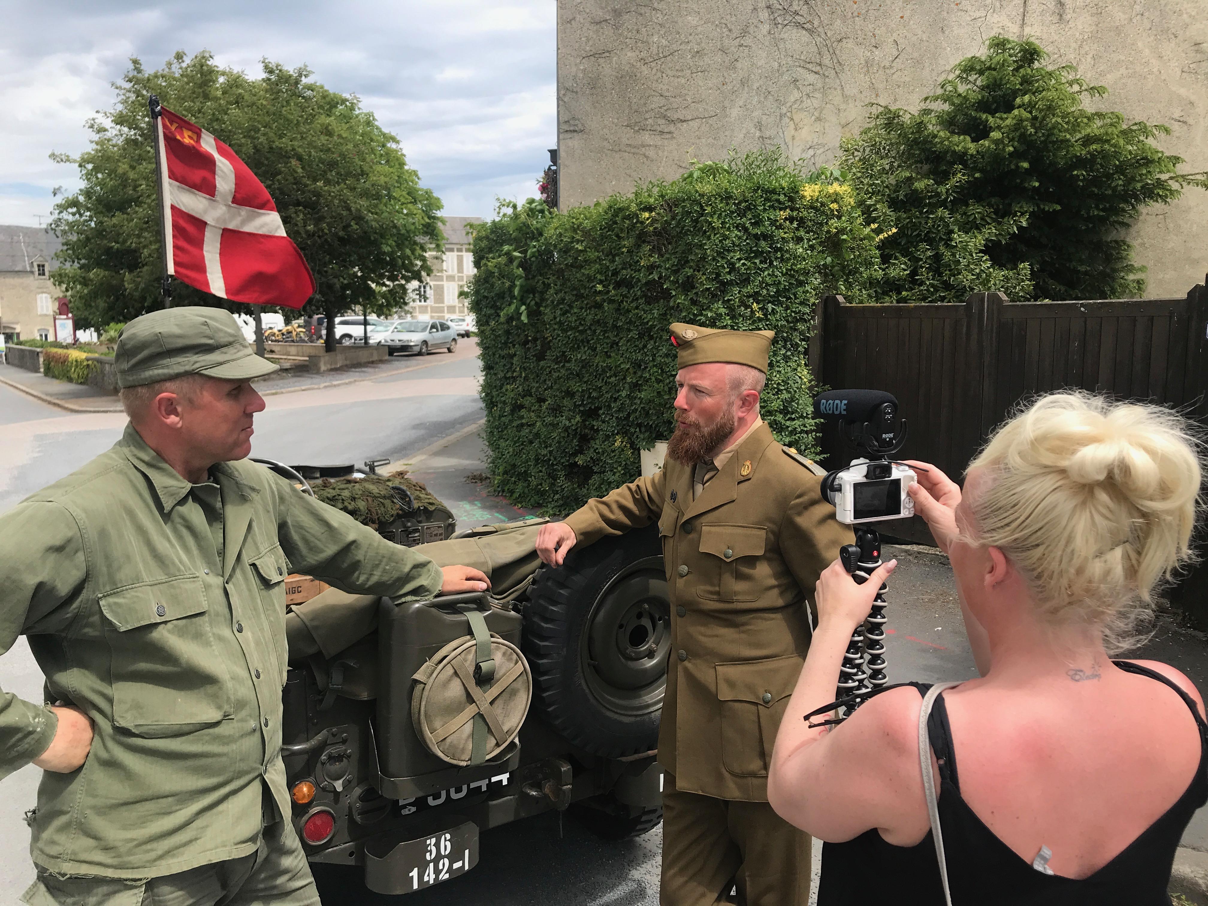 D-Dag 75 års jubilæum - vlog 1