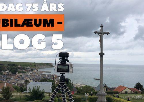 D-Dag 75 års Jubilæum – Vlog 5 – Arromanches og 360 graders biograf