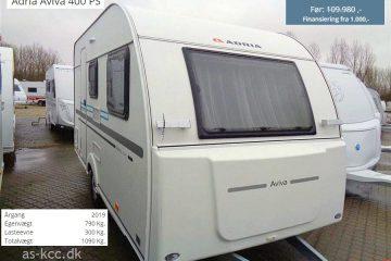 Nedsatte fabriksnye campingvogne – spar penge nu!