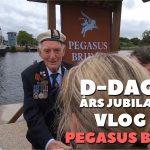 D-Dag 75 års jubilæum -Vlog 8 – Longues sur mer og Pegasus Bridge