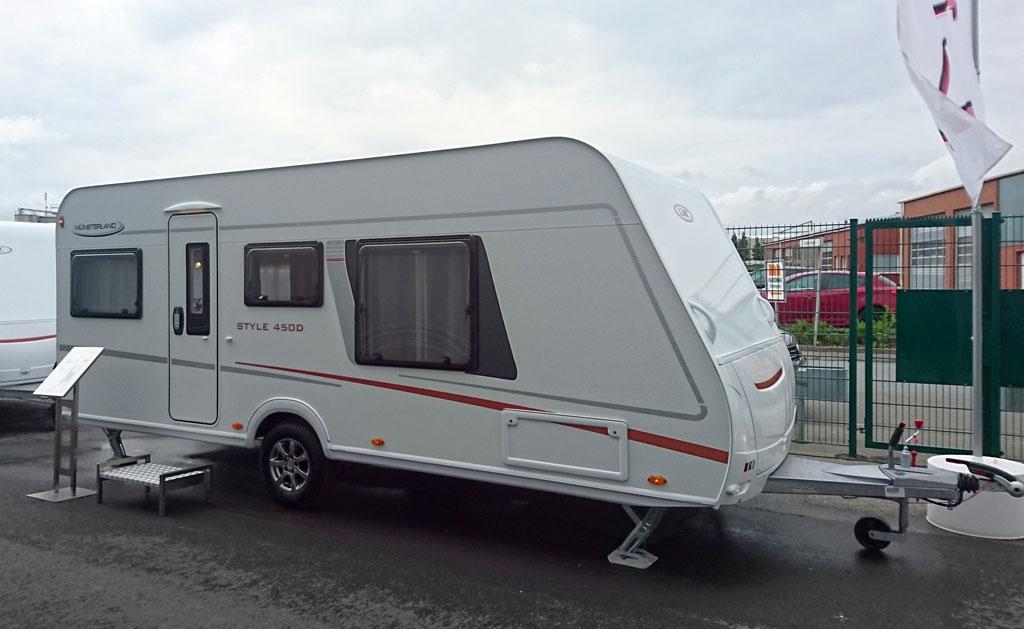 2020 LMC Style 450 D - Én af de første nye (Reklame)