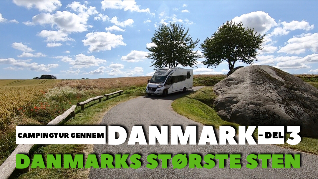 Campingtur gennem Danmark - Militær genistreg, største klippeblok, Ishøj beach og drive away lufttelt - Del 3 + film (Reklame)