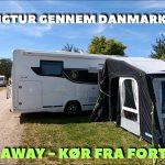Campingtur gennem Danmark – Kampa Drive-Away luft fortelt – del 4