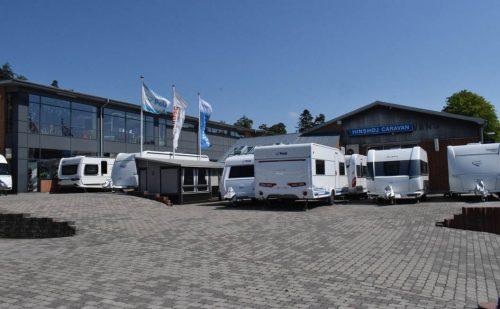Campingferie besøger Hinshøj Caravan