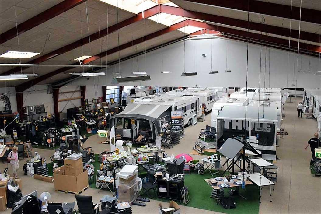 Campingferie besøger Kronjyllands Camping & Marine Center