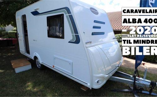 Hvis du har en mindre bil og tilsvarende budget, men vil have en ny campingvogn – så se her