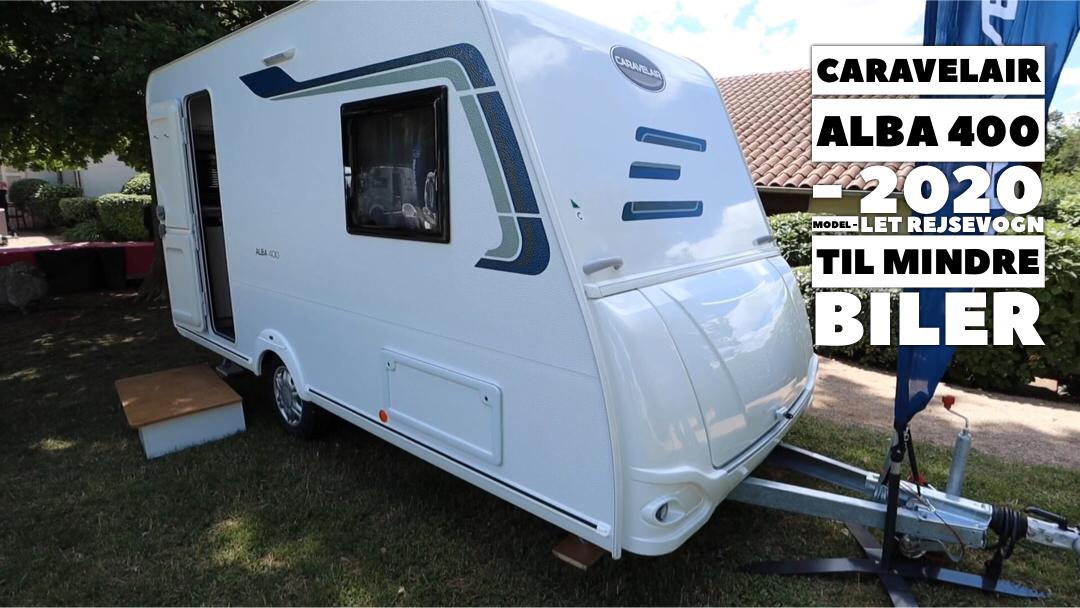 Hvis du har en mindre bil og tilsvarende budget, men vil have en ny campingvogn - så se her