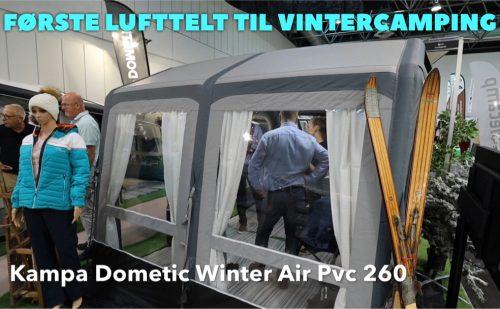 Vinter lufttelt fra Kampa Dometic