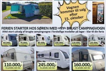 Åbent Hus 9-10 nov. med Danmarks smukkeste brugte vogne
