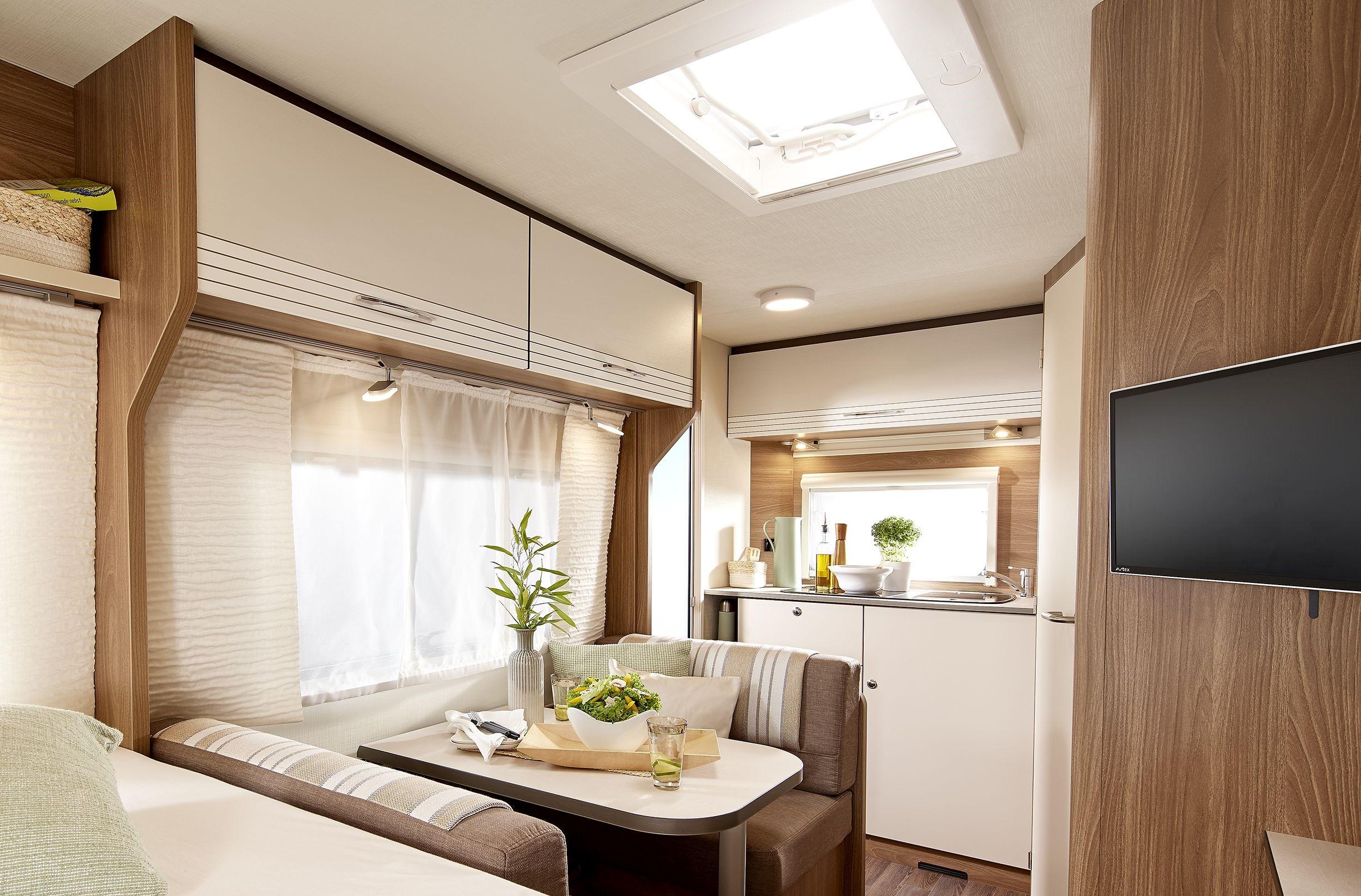 Lille eller stor campingvogn - 2020 modeller fra 360-650cm