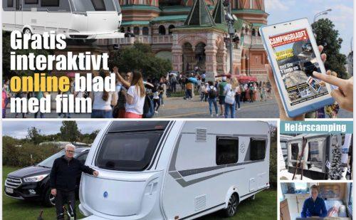 Så er oktober udgaven af Campingbladet udkommet