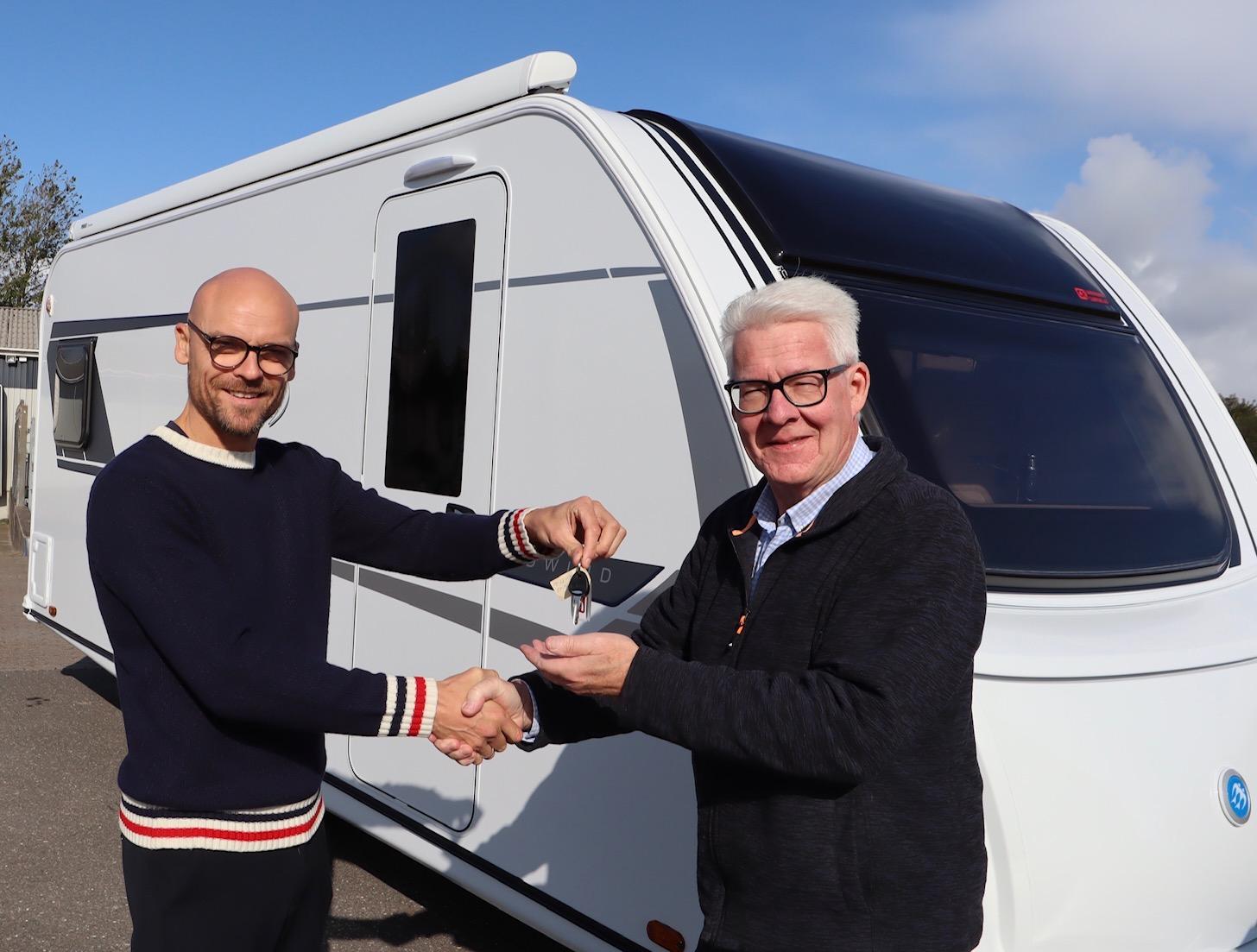 Her er Peer Nesleins nye campingvogn