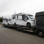 De første 2020 Knaus autocampere er netop ankommet hos PB Autocamper i Allingåbro