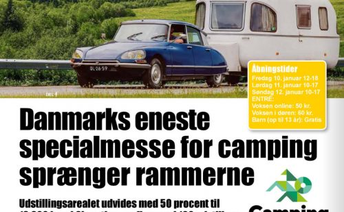 Camping Aalborg – Danmarks store specialmesse med alt inden for camping